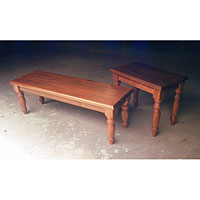 Blackwood Coffee Table and Sofa Table.