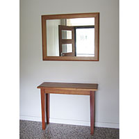 Tasmanian Blackwood Hall Table and matching Mirror